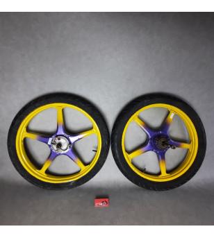 Jante LELEU avec pneu (PR) Peugeot 103 Accueil sur le site du spécialiste des deux roues O-TAKET.COM
