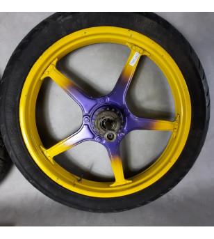 Jante  LELEU avec pneu (PR) Peugeot 103