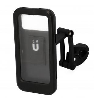 SUPPORT SMARTPHONE/IPHONE BOX UNIVERSEL BLACKWAY FIXATION GUIDON ÉQUIPEMENTS sur le site du spécialiste des deux roues O-TAKE...
