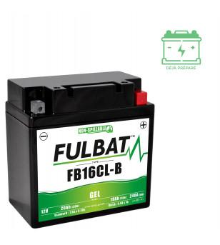 BATTERIE FB16CL-B FULBAT 12V19AH LG175 L100 H175  - GEL ACTIVEE USINE