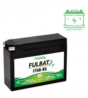 BATTERIE FT4B-BS FULBAT 12V2.3AH LG113 L38 H85 - GEL ACTIVEE USINE