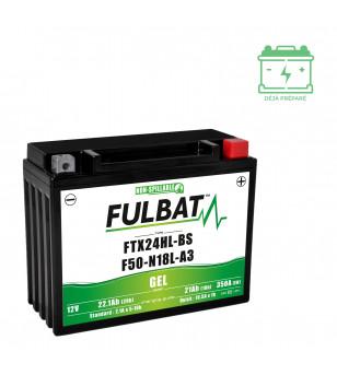 BATTERIE FTX24HL-BS FULBAT 12V21AH LG205 L87 H162 - GEL ACTIVEE USINE
