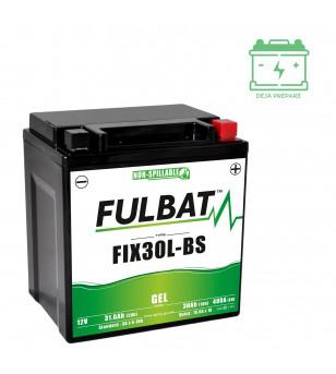 BATTERIE FIX30L-BS FULBAT 12V30AH LG165 L125 H175 - GEL ACTIVEE USINE