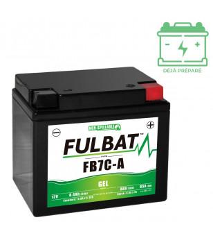 BATTERIE FB7C-A FULBAT 12V8AH LG130 L90 H114 - GEL ACTIVEE USINE
