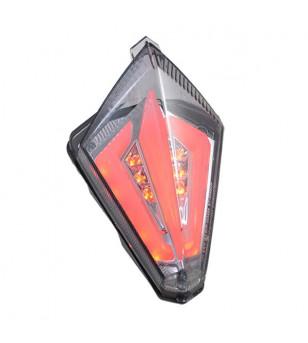 FEU AR MAXI SCOOTER/MOTO ADAPT. 530 TMAX -17/YZF R1 07-08 FUME LEDS FOGGY HOMOLOGUE CE