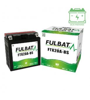 BATTERIE FTX20A-BS FULBAT 12V18AH LG150 L87 H161 (GEL - SANS ENTRETIEN) - ACTIVEE USINE