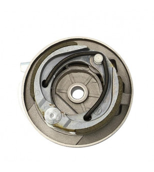 FLASQUE DE FREIN CYCLO AV ADAPT. PEUGEOT 103 SPX/RCX/SP (AXE DE 12MM 90X20) TYPE GRIMECA